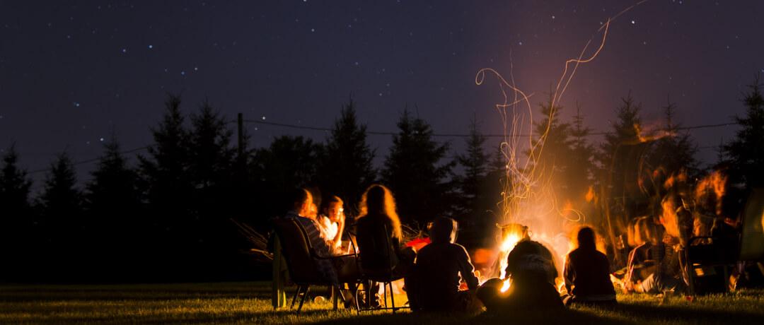 Locais incríveis para Camping