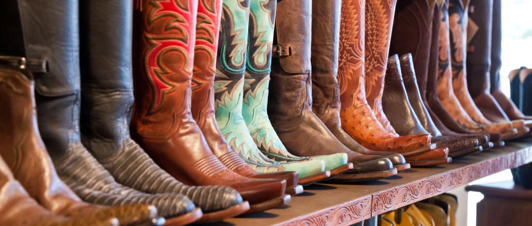 cuidados com bota de cowboy
